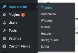 Appearance, themes