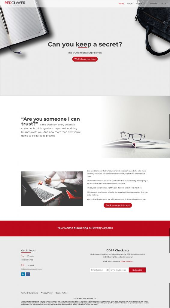 Red Clover Advisors Homepage