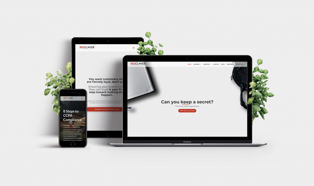 Red Clover Advisors mock-up