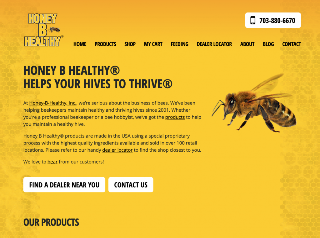 Honey B Healthy snapshot