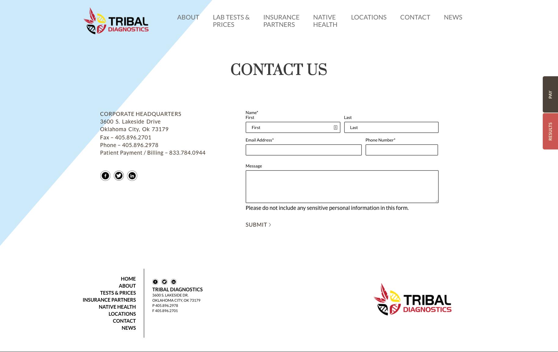 Tribal Diagnostics