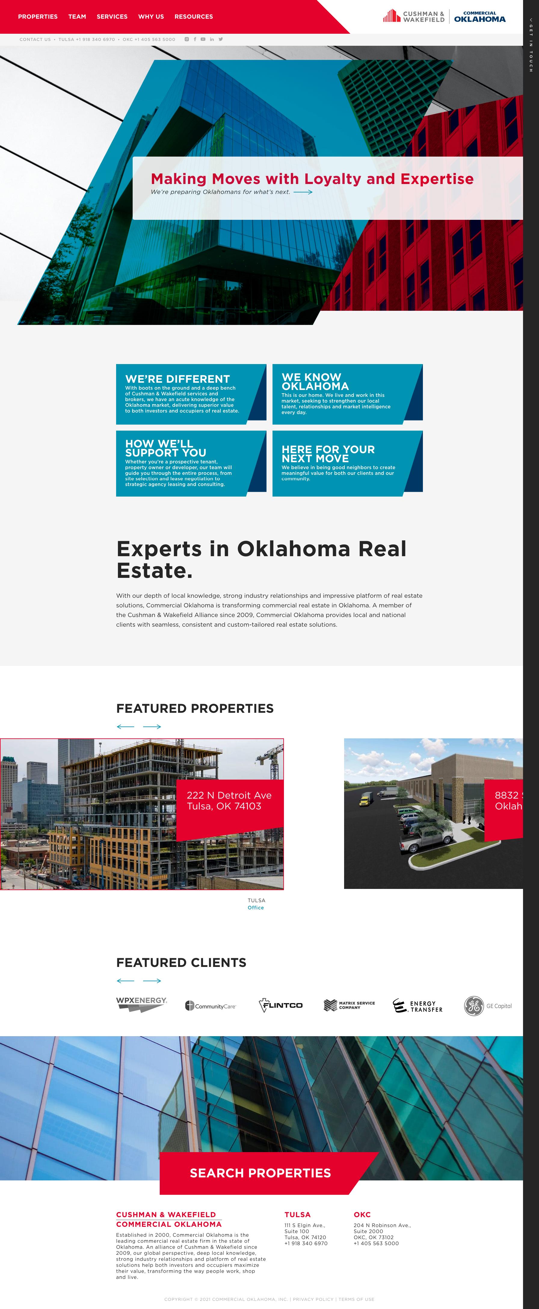 Cushman Wakefield / Commercial Oklahoma